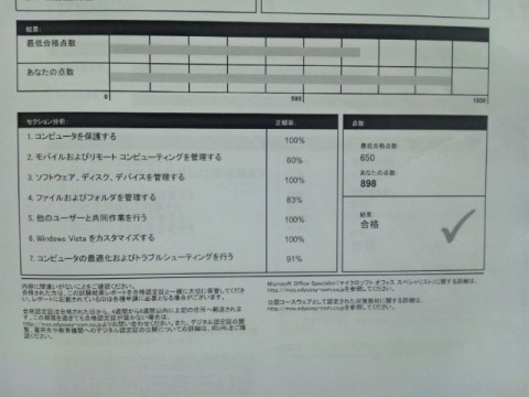 【MOS Vista】わざわざ横浜で受験する物好きな私
