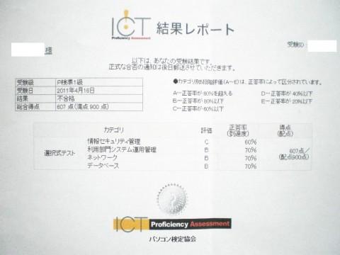 P検準1級リベンジ受験!なんとか合格…。