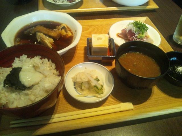 本濱(浜松町) 「鯛めし定食」onlyのランチタイム