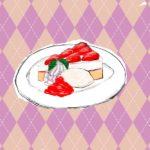 【絵日記】デザートは二人で食べれば罪悪感が半分になる!?