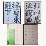 大人書道2年目の練習月記(2018年7月)6級から5級に昇級!&仮名の練習を始めました!